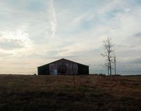Ye ole hippy barn royalty free stock photo