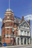 "\""Ye White Hart\"", a Victorian pub in Barnes, south west London"