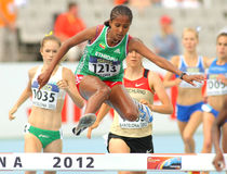 Yeabsira Bitew van Ethiopië Stock Fotografie