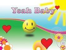 младенец yeah Стоковая Фотография RF