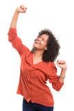 Yeah! Sooo happy! Royalty Free Stock Photography