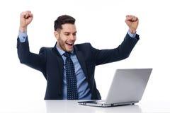 Yeah, trabalha! Imagens de Stock