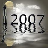 Year 2007 royalty free stock image