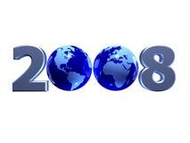 Year 2008 Stock Image