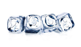Year of 2008 icecube. Year of 2008 in icecube to represent the issue of globa warming Stock Images