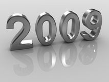 Year 2009 Stock Image