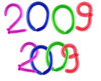 Year 2009 royalty free stock photos