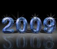 Year 2009 illustration Stock Photo