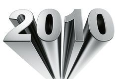 Year 2010 Stock Photography