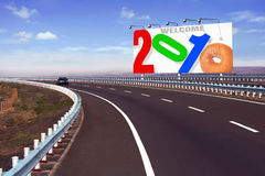Year 2010. 2010 new year concepts for various purposes such as calendars, greeting cards, etc Royalty Free Stock Photos
