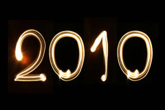 Year 2010 Royalty Free Stock Images