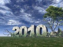 Year 2010 Royalty Free Stock Photo