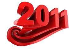 Year 2011 Stock Images