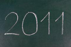 Year 2011 is coming Royalty Free Stock Photo