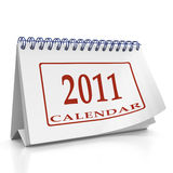 Year 2011 desktop organizer Royalty Free Stock Images