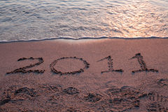 Free Year 2011 Is Coming Stock Image - 15842091