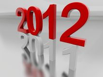 Year 2012 Stock Photography