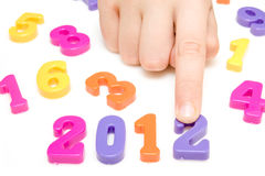 year 2012. Stock Photography
