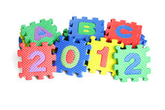 Year 2012 Royalty Free Stock Photos