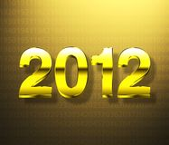 Year 2012 Stock Photo
