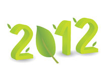 Year 2012 in 3D Stock Images