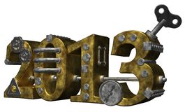 The year 2013 Stock Image