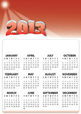 Year 2013 Stock Images
