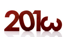Year 2013. In ciphers isolated over white background Stock Images