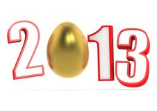 Year of 2013 Royalty Free Stock Photos