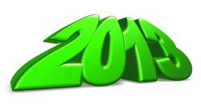Year 2013 Stock Image