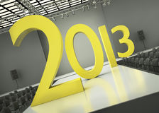 Year 2013 concept Stock Images