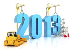 Year 2013 growth Royalty Free Stock Image