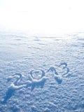 Year 2013 High Key Royalty Free Stock Photos