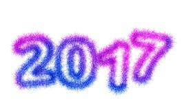 Year 2017 Royalty Free Stock Image
