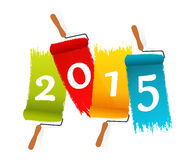 Year 2015 Stock Images