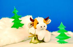 Year  of bull Royalty Free Stock Photography