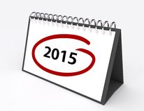 Year 2015 Stock Photos