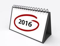 Year 2016 Royalty Free Stock Image