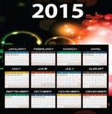 2015 year calendar. Illustration of 2015 year calendar Vector Illustration