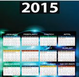 2015 year calendar. Illustration of 2015 year calendar Stock Photos