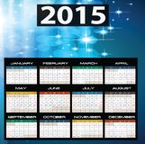 2015 year calendar. Illustration of 2015 year calendar Royalty Free Stock Images