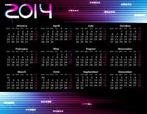 Year calendar Royalty Free Stock Images