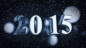Year 2015 stock footage