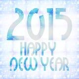 Year 2015. Creative design graphic illustration Stock Photos