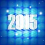 Year 2015. Creative design graphic illustration Royalty Free Stock Photos