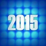 Year 2015. Creative design graphic illustration Royalty Free Stock Photo