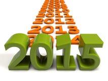 2015 year Stock Photo