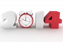 2014 year Royalty Free Stock Images