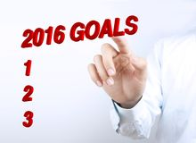 Year2016 Goals Royalty Free Stock Photo