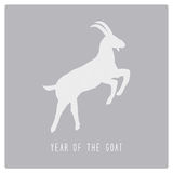 Year of the Goat9 Royalty Free Stock Photo